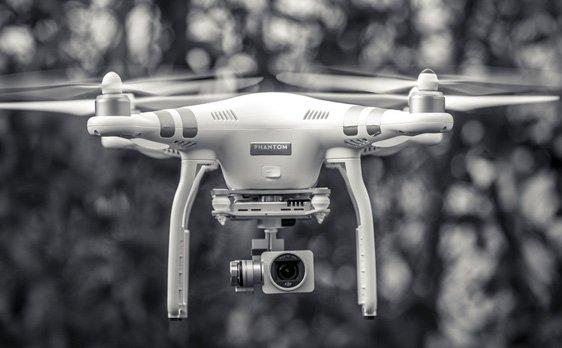 Capatation vidéo avec drone par KREATIC