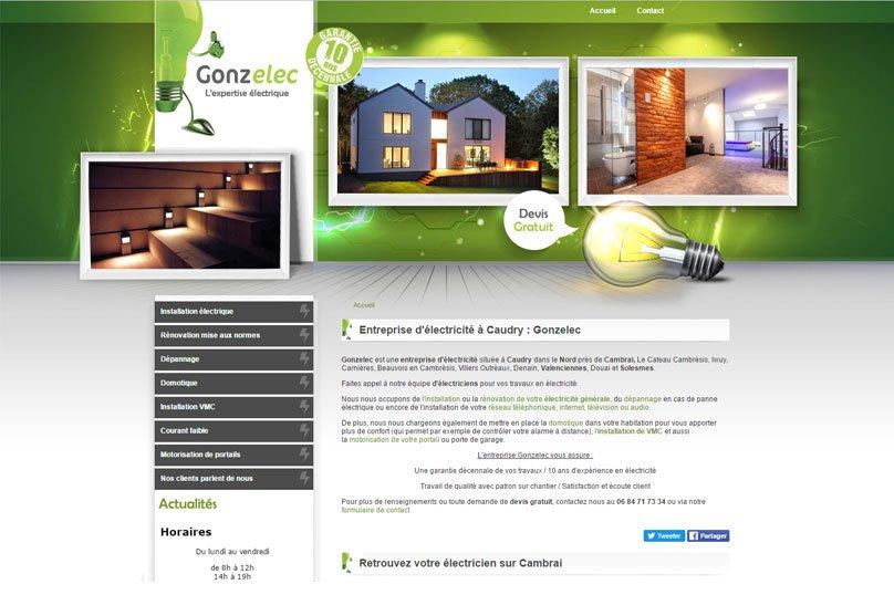Gonzelec, site par KREATIC
