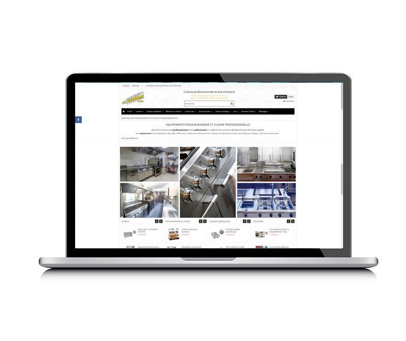 Lemoine CHR, site e-commerce créé par KREATIC